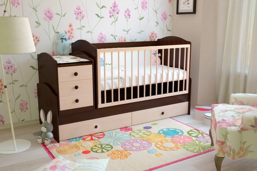 Кроватки для новорожденных алматы