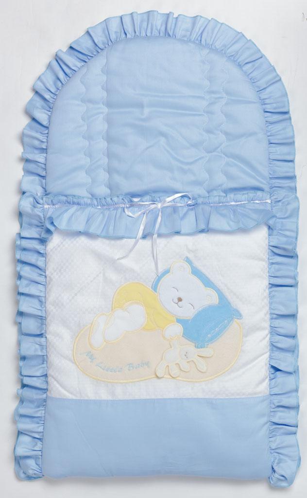 Летний конверт на выписку для новорожденного своими руками
